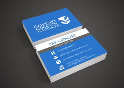 Cathcard Education Card Design