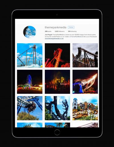 Themeparkmedia.co.uk - Instagram Page
