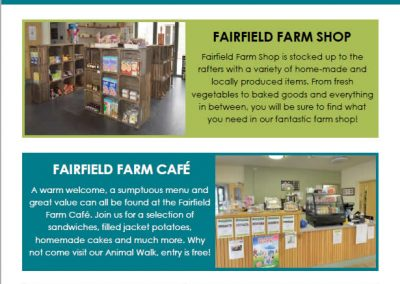 Local Advertising Leaflet For Fairfield Farm College