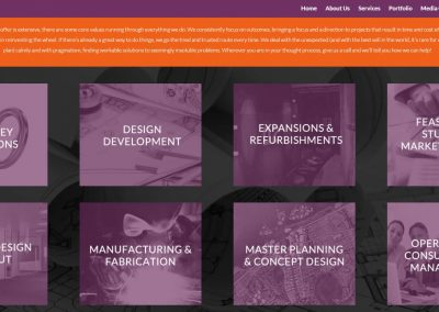 Saturn Imagineering Services Page