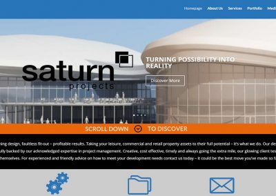 Saturn Projects Homepage