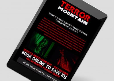 Terror Mountain Email Example