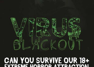 Virus Blackout Poster