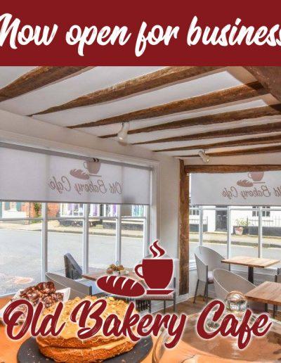 Old Bakery Cafe - Social Media
