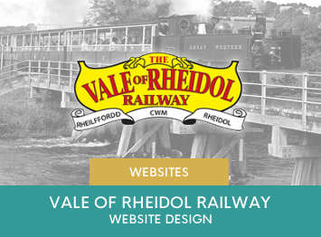 Website Re-design for Rheidol Railway by INOV8 Marketing