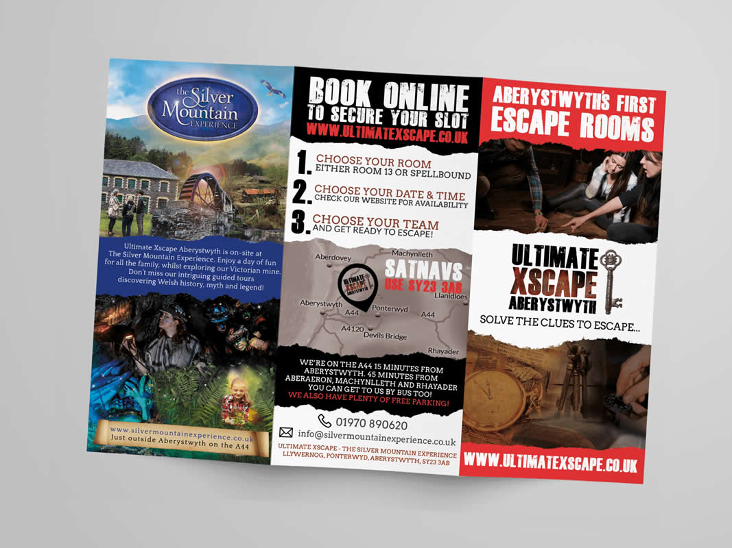 Ultimate Xscape Marketing Strategy INOV8 Marketing Leaflet