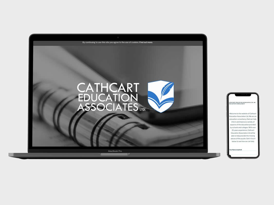 Cathcart Education Branding INOV8 Marketing Website