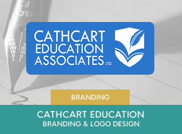 Cathcart Education branding by INOV8 Marketing