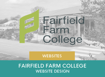 Website design for Fairfield Farm College