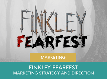 Marketing Strategy development for Finkley Fearfest by INOV8 Marketing