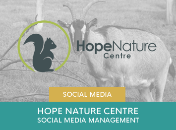 Hope Nature Centre social media management by INOV8 Marketing