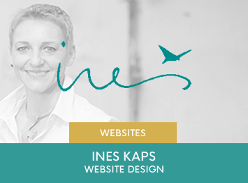 Ines Kaps website design by INOV8 Marketing