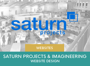 Saturn Projects and Saturn Imagineering website design by INOV8 Marketing