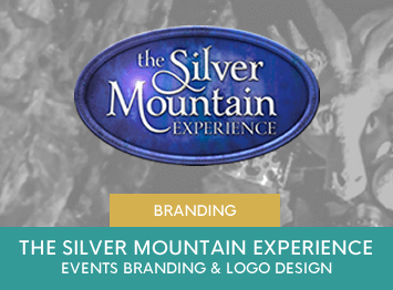 The Silver Mountain Experience Events branding by INOV8 Marketing