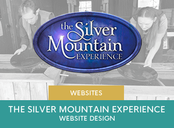 The Silver Mountain Experience website design by INOV8 Marketing