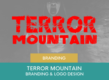 Terror Mountain attraction logo design by INOV8 Marketing
