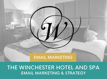 The Winchester Hotel and Spa email marketing campaigns by INOV8 Marketing
