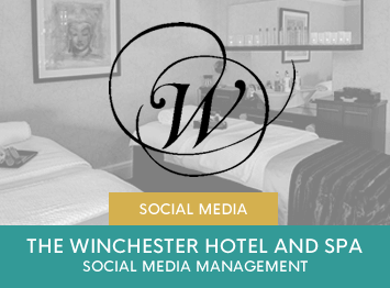 The Winchester Hotel and Spa social media management by INOV8 Marketing