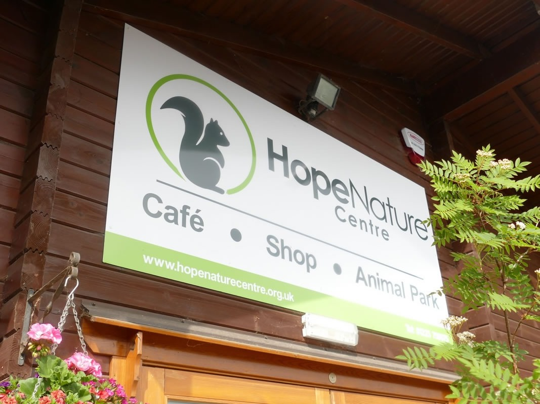 Hope Nature Centre Branding INOV8 Marketing Signage for Front
