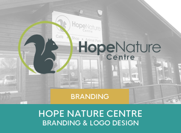 Hope Nature Centre re-brand and logo creation by INOV8 Marketing