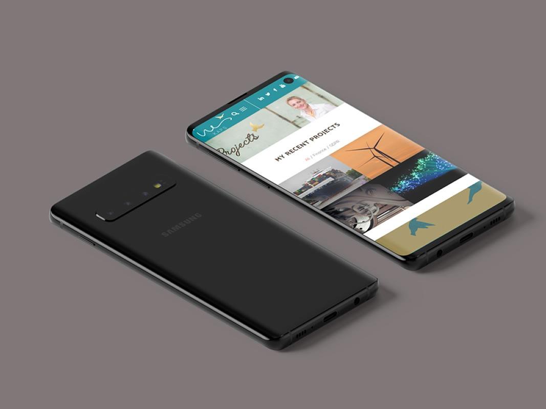 Ines Kaps Website Design INOV8 Marketing Samsung