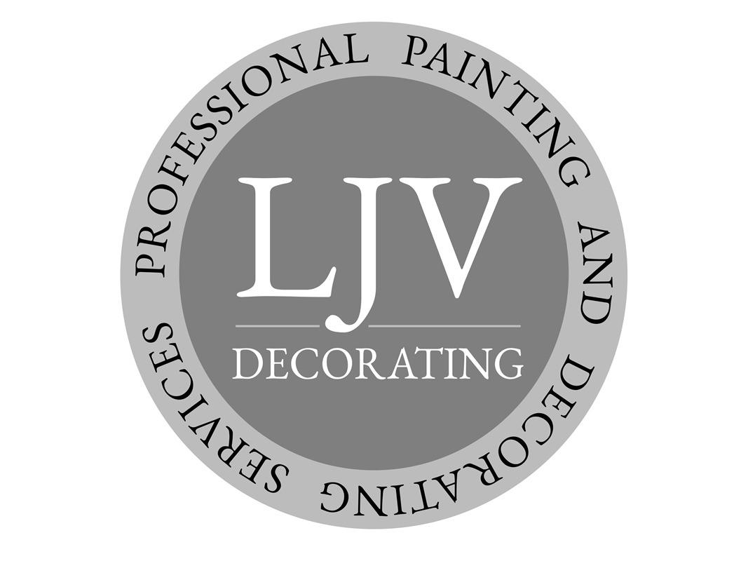 LJV Decorating Branding INOV8 Marketing Logo