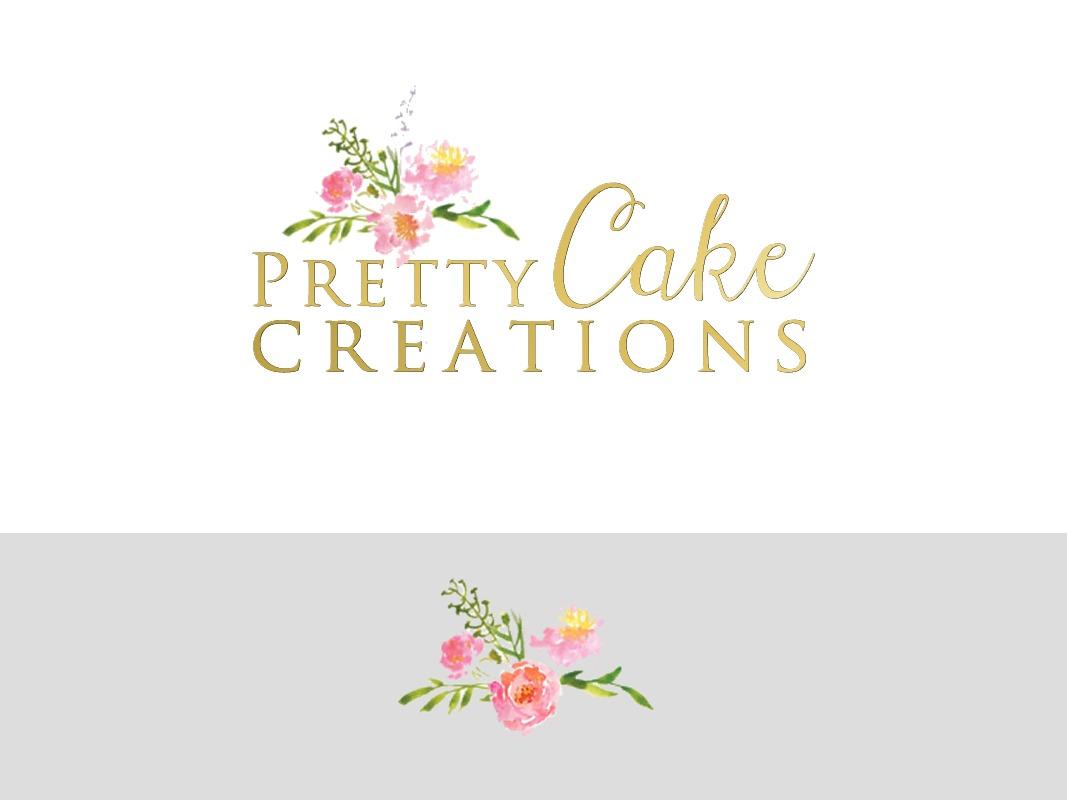 Pretty Cake Creations Branding INOV8 Marketing Logo