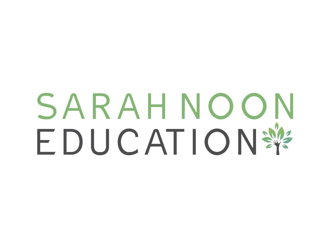 Sarah Noon Education Branding INOV8 Marketing Logo