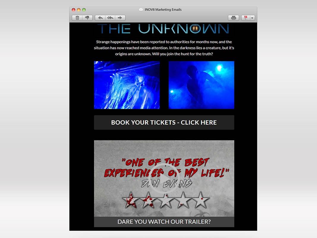 Terror Mountain Email Marketing INOV8 Marketing Video Trailer