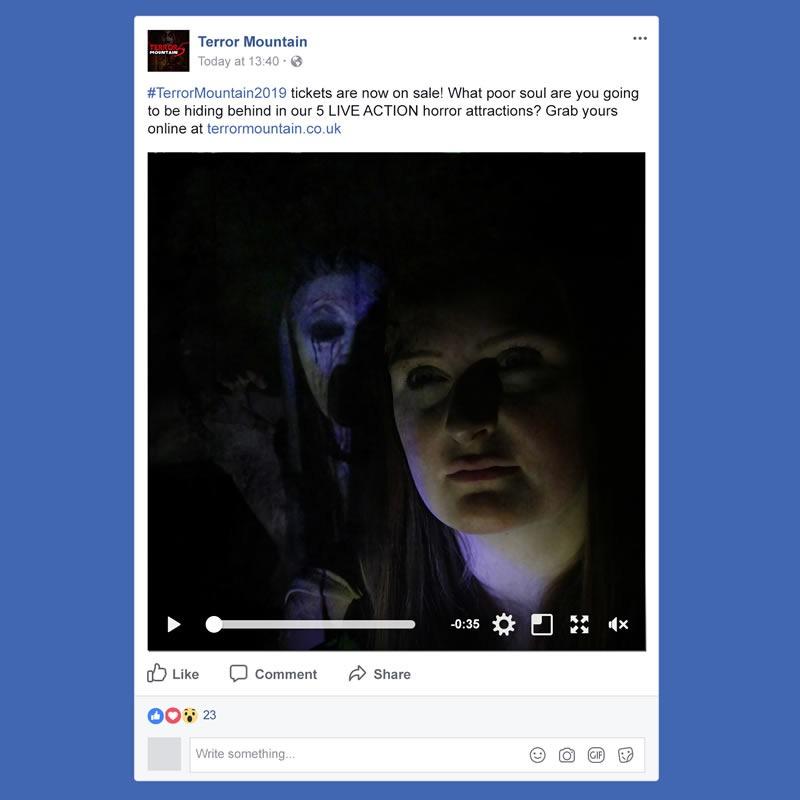 Terror Mountain Social Media Management INOV8 Marketing Video
