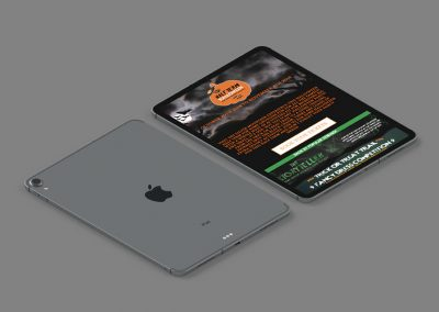 The Silver Mountain Experience Website Design INOV8 Marketing iPad