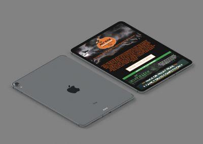 The Silver Mountain Experience Website Design INOV8 Marketing iPad