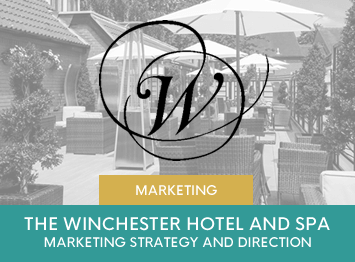 The Winchester Hotel and Spa marketing development by INOV8 Marketing