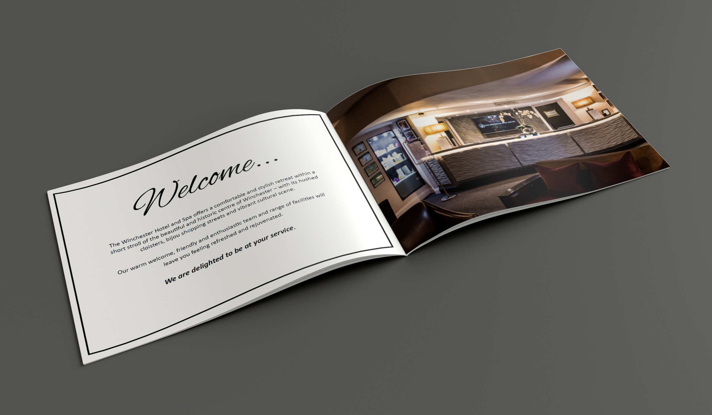 The Winchester Hotel and Spa Design Services INOV8 Marketing Brochure 2