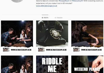 Ultimate Xscape Social Media Management INOV8 Marketing Instagram