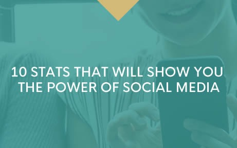 10 stats that will show you the power of social media!