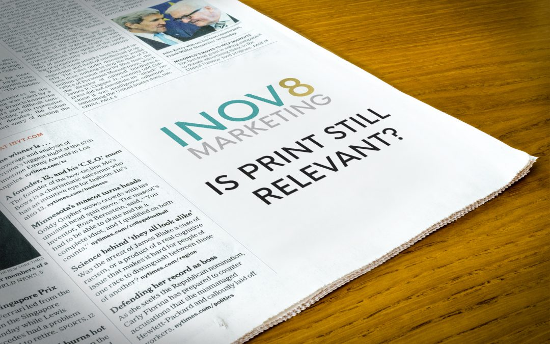 Here are 3 reasons why print should be part of your marketing strategy.