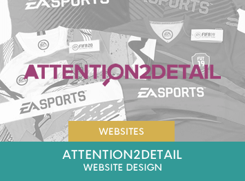 Attention2Detail website design by INOV8 Marketing