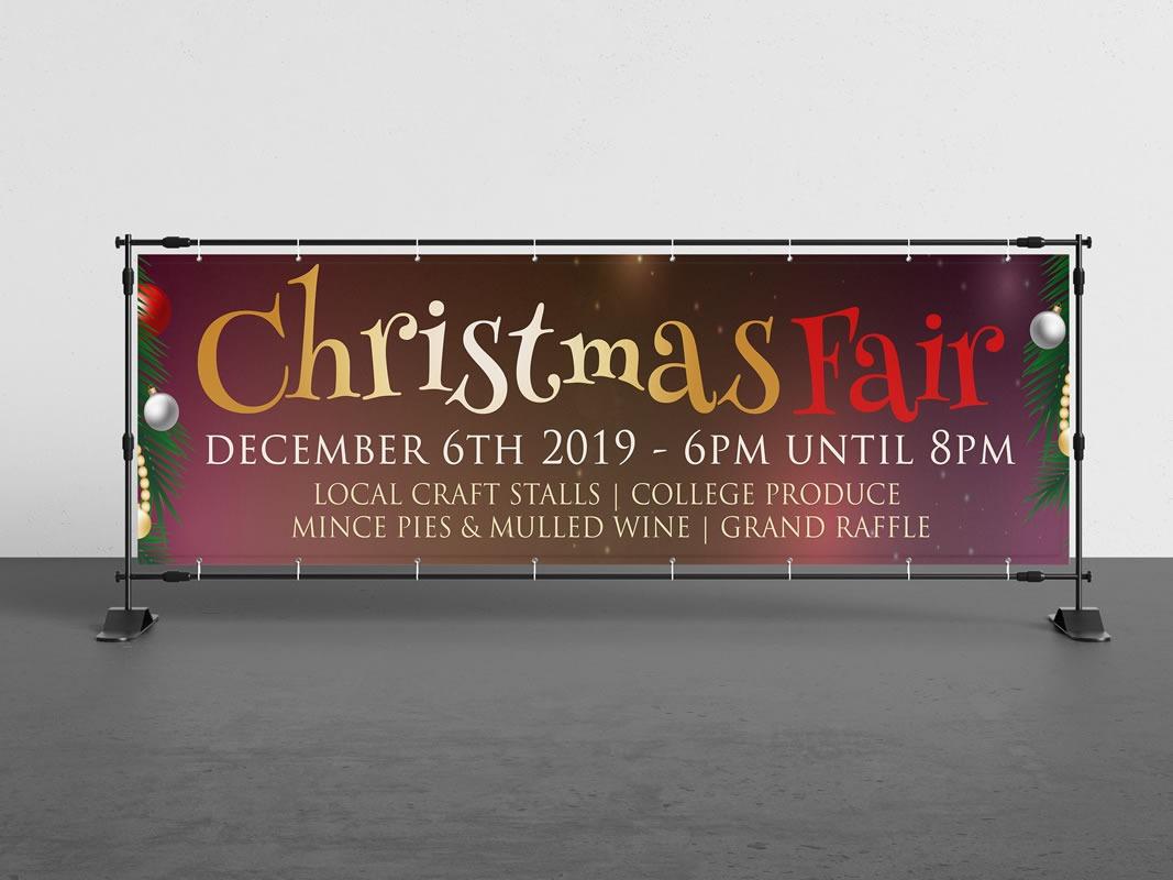 Christmas Fair Banner