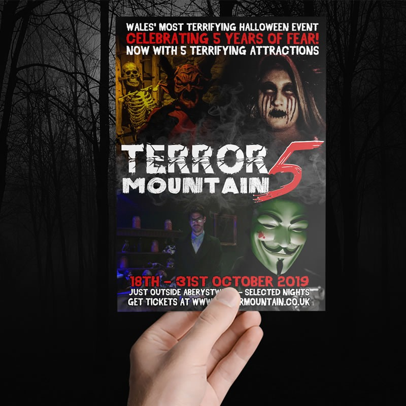 Terror Mountain Poster