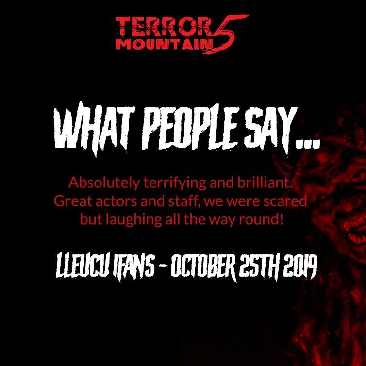Terror Mountain Review Social Media