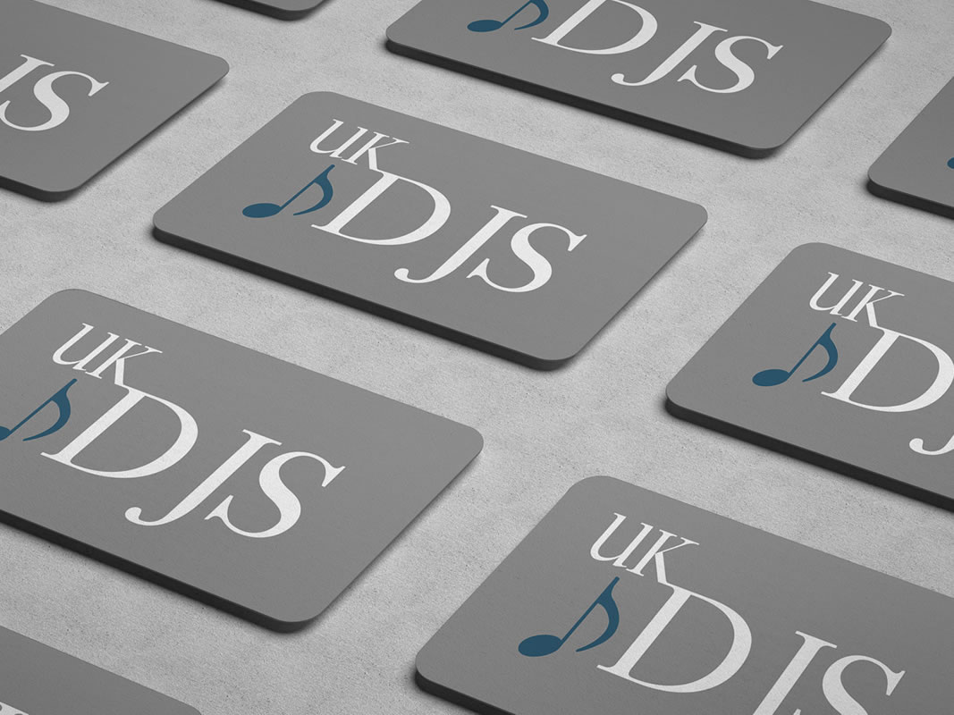 UK DJS Card Design