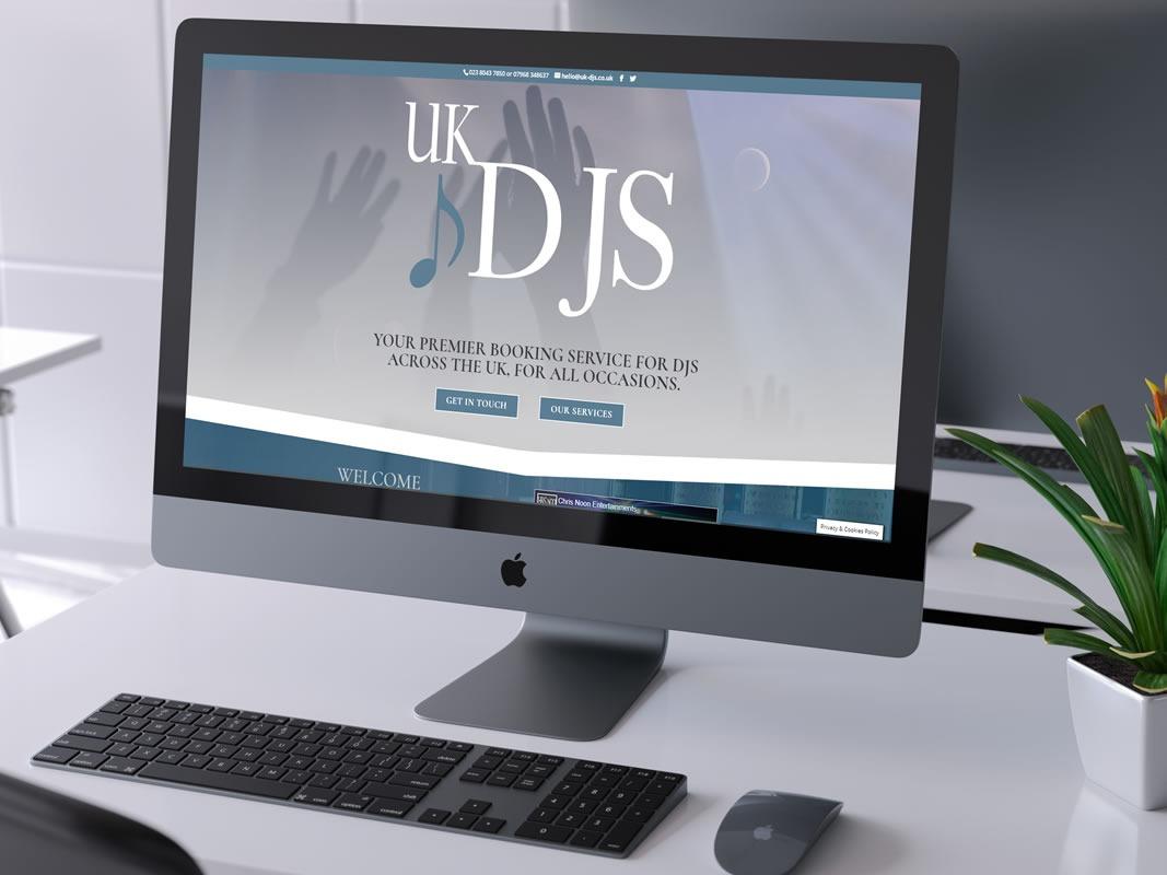 UK DJs Desktop Website
